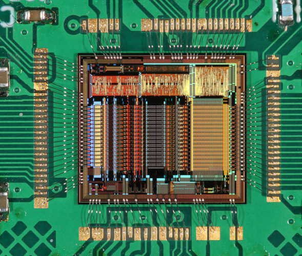 IDE3380 mounted on PCB